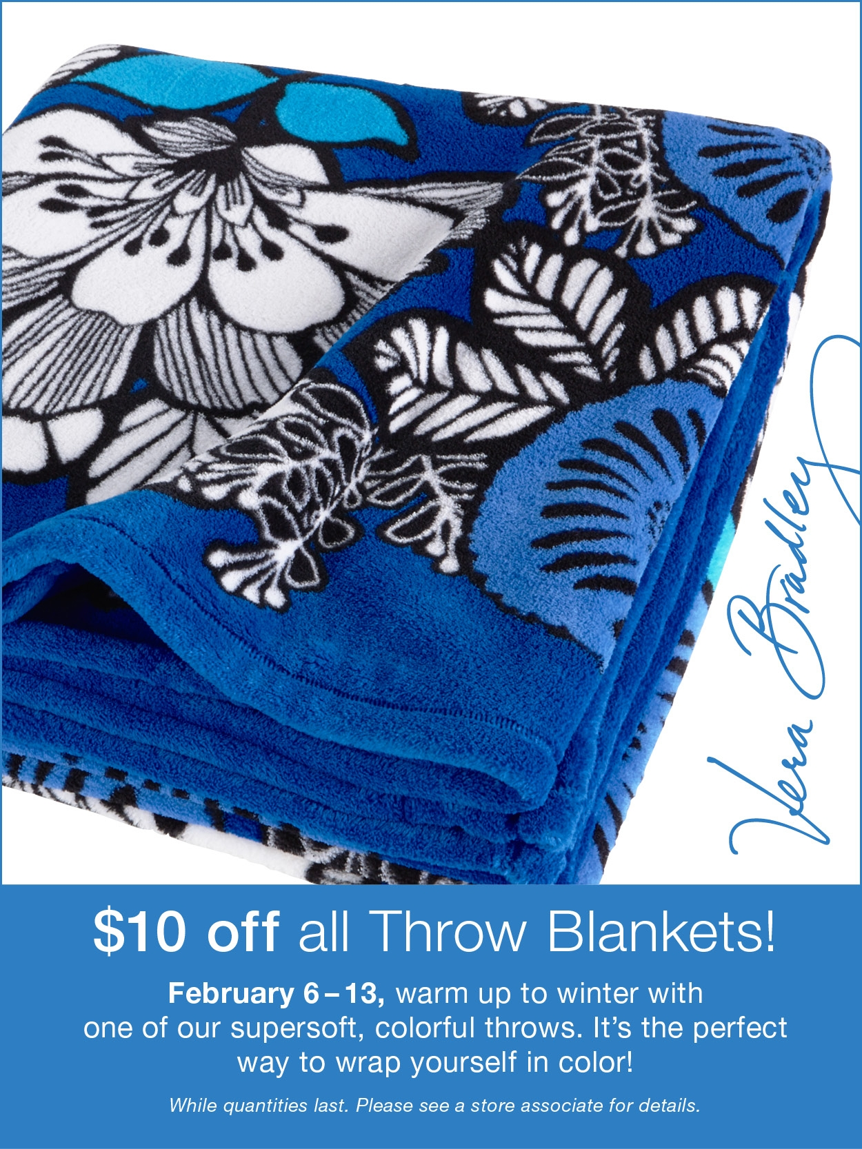 VBThrow Blanket Promo