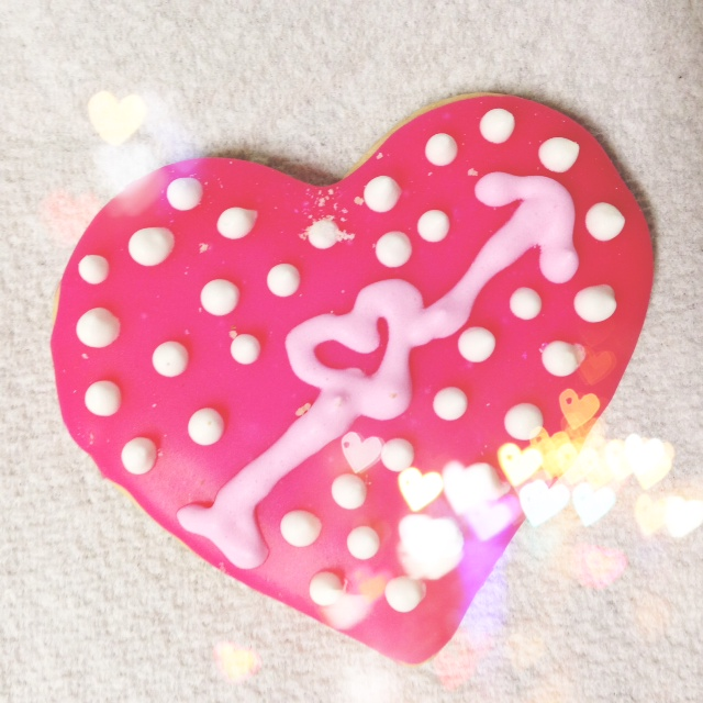 VDay cookie