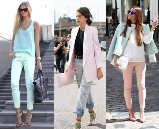 Bloggers and Fashion set in Pastel