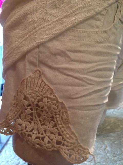 OF shorts detail