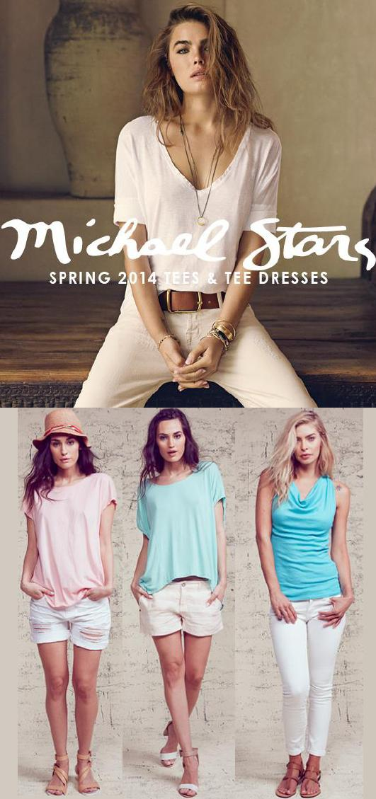 Lots of great Michael Stars styles now available at Sachi!