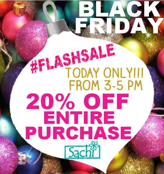 Sachi Black Friday