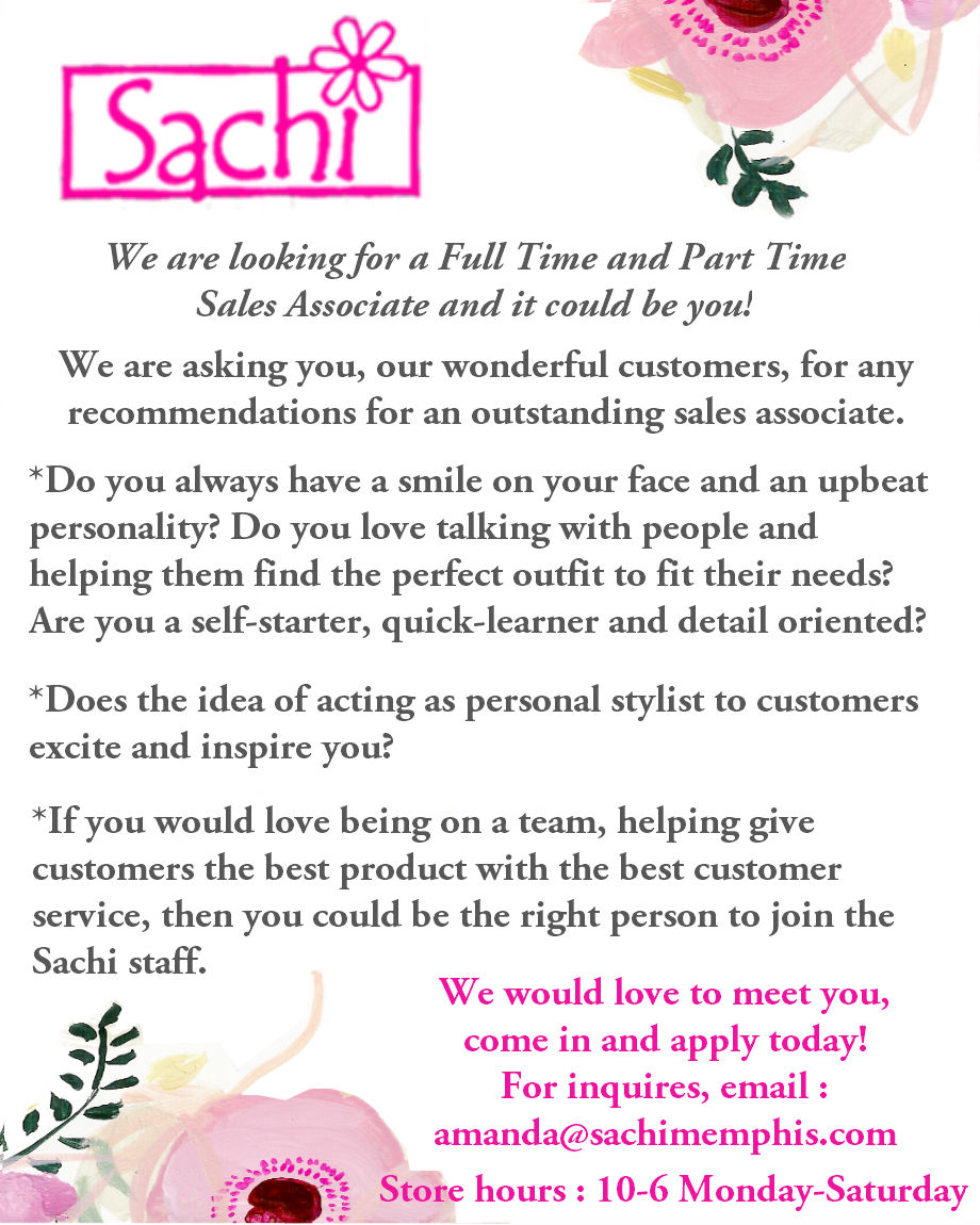 Final Sachi Now Hiring Email