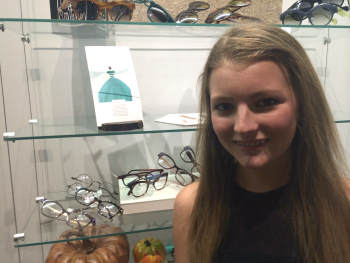 Meggy Muller is a sophomore at Hutchison School. Her design will be in the singles collection for EMDP.