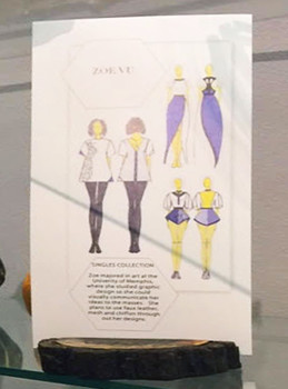 Zoe Vu's design sketch.