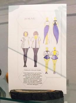 Zoe Vu's design sketch.