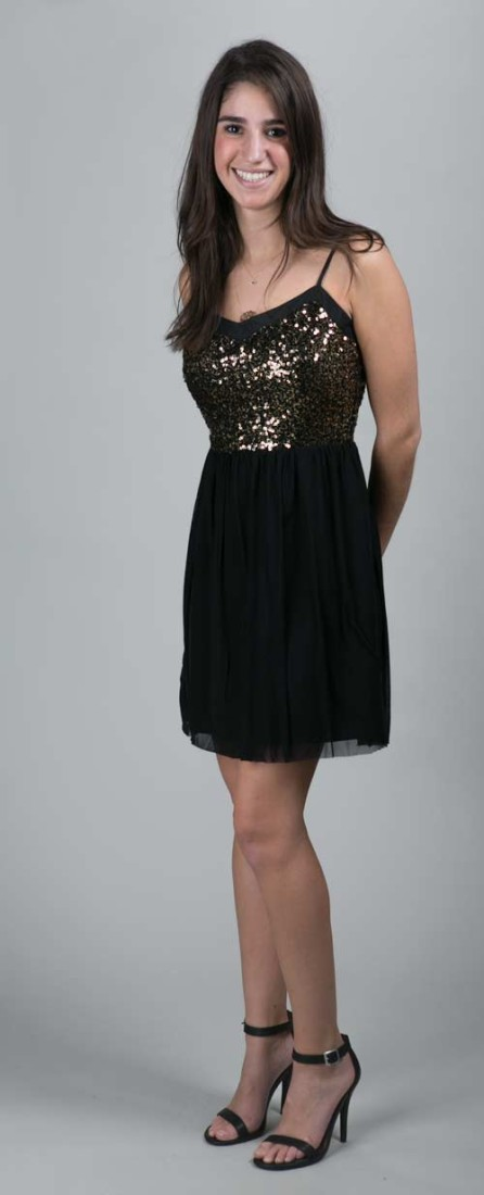Gold Sequin Dress By Jack